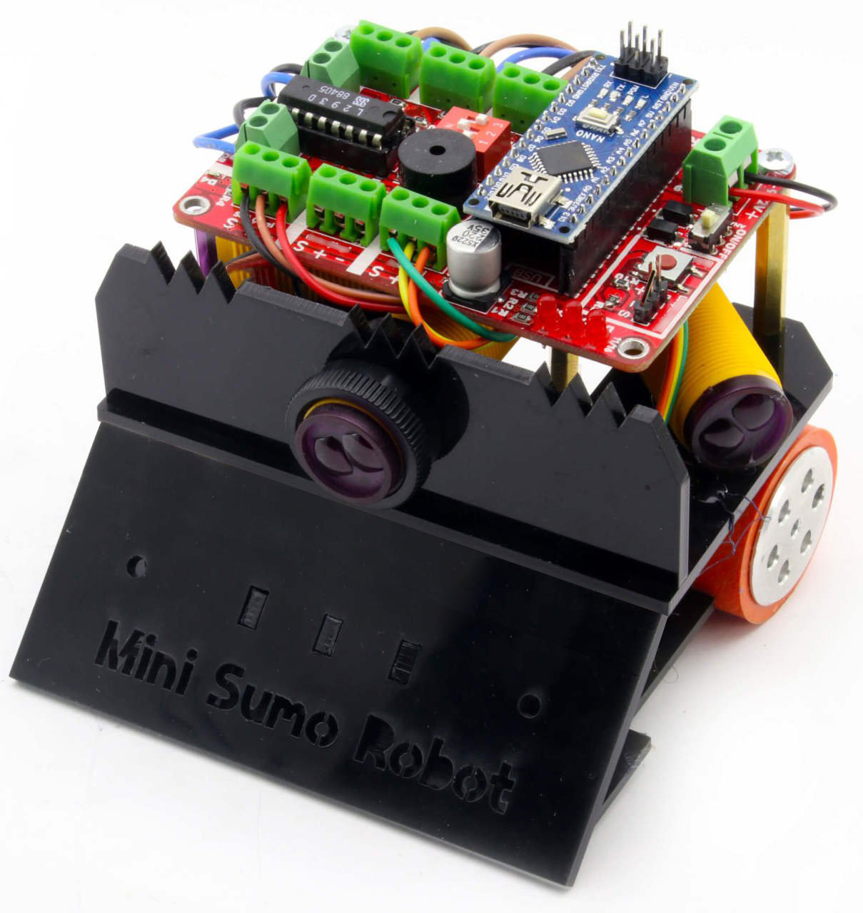 FROG Mini Sumo Robot Kit