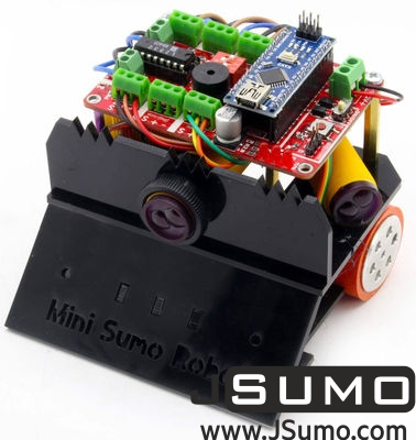 Jsumo - FROG Mini Sumo Robot Kit (1)