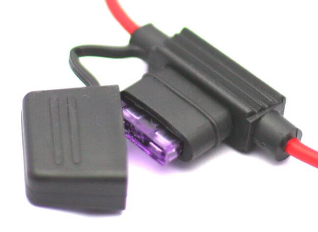 Fuse Holder with Cap