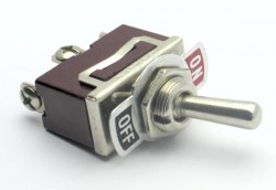 Generic Toggle Switch (On/Off 16A 125VAC) - Thumbnail