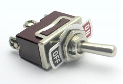 - Generic Toggle Switch (On/Off 16A 125VAC)