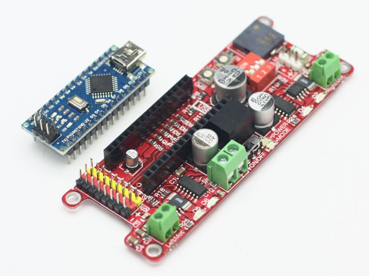 Genesis Arduino Robot Controller (With Arduino Nano)