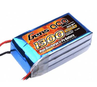 GENSACE 1300 Mah 11,1V 3S LiPO Battery