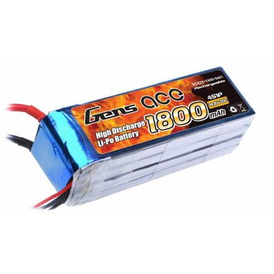 GENSACE 4S 14.8V 1800Mah 25C LiPo Battery