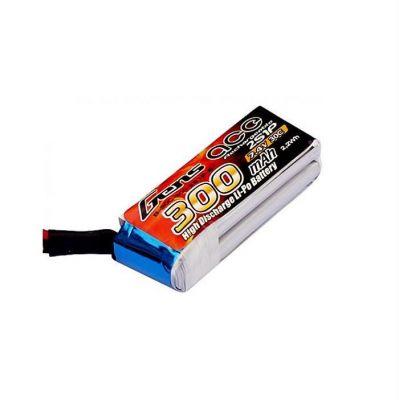 GENSACE 7,4V 2S 300Mah 30C Micro Lipo Battery (For Mini Sumo Robots)