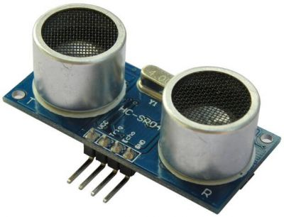 - HC-SR04 Cheap Ultrasonic Sensor (1)