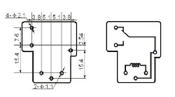 Helishun High Current Automotive Relay (28V 30A @12V Control) - Thumbnail