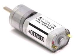 HP20 12V 1500 Rpm 12:1 High Power DC Motor - Thumbnail