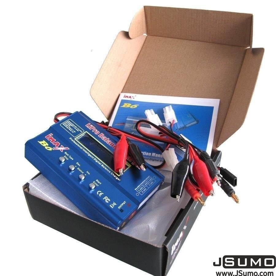 Imax B6 Lipo Charger 1S-6S & Wall Adapter