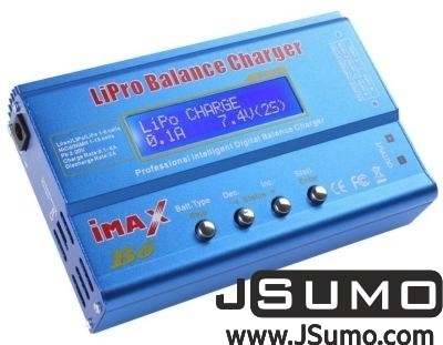 Imax - Imax B6 Lipo Charger 1S-6S & Wall Adapter