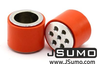 Jsumo - JS2622S Steel-Silicone Wheel Pair (26mm Diameter)