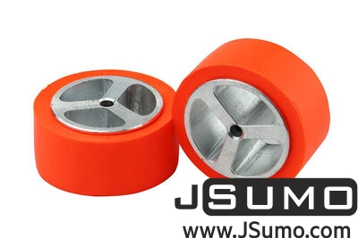 Jsumo - JS4320 Aluminum - Silicone Wheel Set (43mm x 20mm) Pair