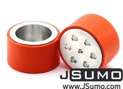 Jsumo - JS7444 Aluminum-Silicone Wheel Pair (74mm Diameter)
