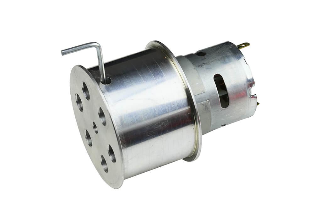JS7444 Aluminum-Silicone Wheel Pair (74mm Diameter)