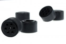 JSumo Dark Silicone Wheel Set (33mm Diameter - Pair) - Thumbnail