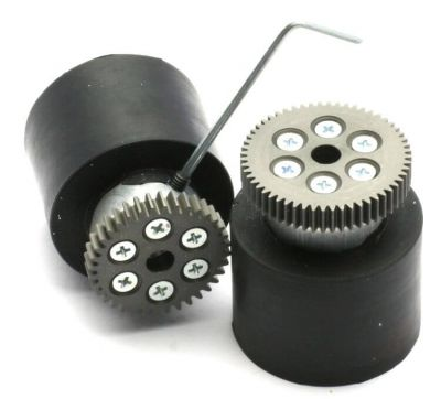 Jsumo - JSumo Robot Wheel 40x40mm Pair (JS4040) (1)
