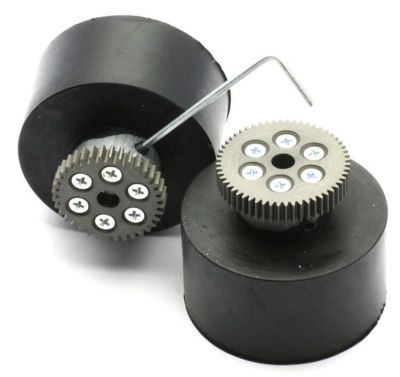 Jsumo - JSumo Robot Wheel 55x40mm Pair (JS5540) (1)