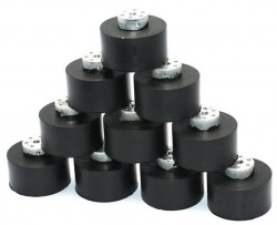 JSumo Robot Wheel 55x40mm Pair (JS5540) - Thumbnail