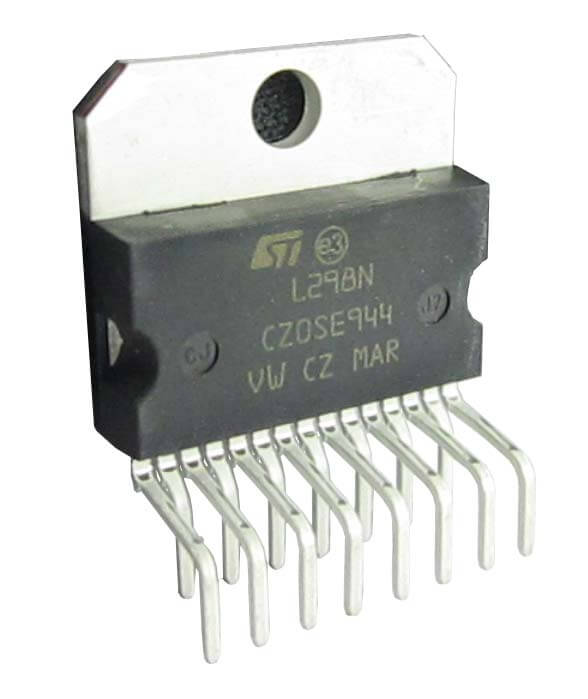 L298N Dual Motor Driver IC 2A 5V-46V