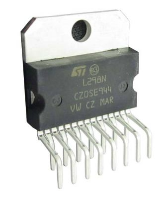 STMicroelectronics - L298N Dual Motor Driver IC 2A 5V-46V