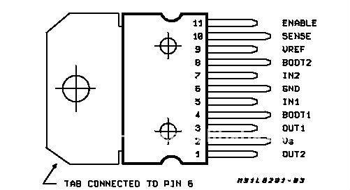 L6203 Motor Driver IC 4A 12V-48V
