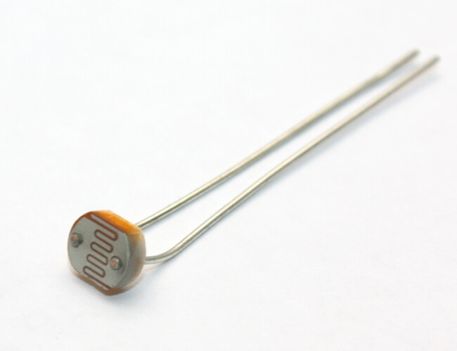 LDR (PhotoCell) Light Dependent Resistor (5mm Diameter)