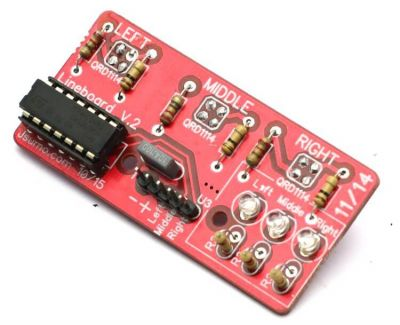 Jsumo - LineTracker Line Sensor Board (Unassembled)