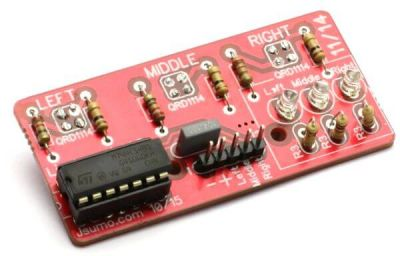 Jsumo - LineTracker Line Sensor Board (Unassembled) (1)