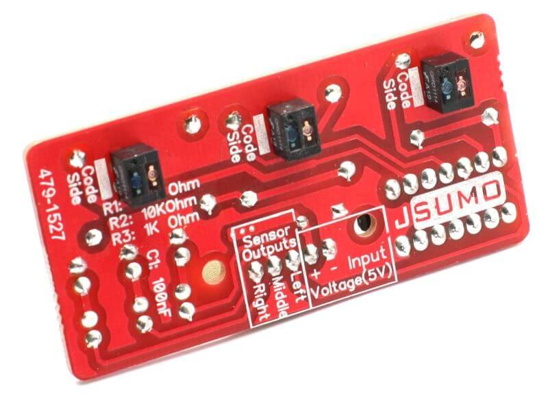LineTracker Line Sensor Board (Unassembled)