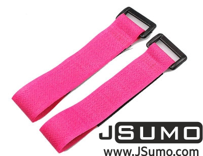 - Lipo Battery Belt Set 20cm - Pink