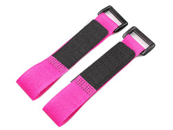 Lipo Battery Belt Set 20cm - Pink - Thumbnail