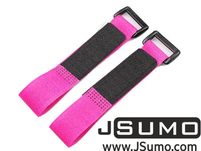 - Lipo Battery Belt Set 20cm - Pink (1)