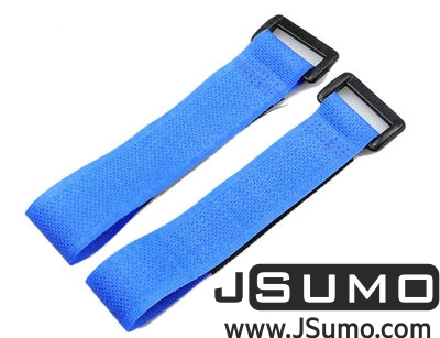 - Lipo Battery Belt Set 20cm - Blue