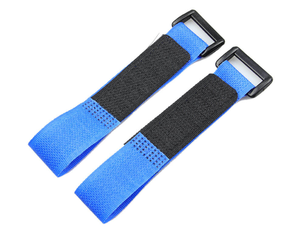 Lipo Battery Belt Set 20cm - Blue