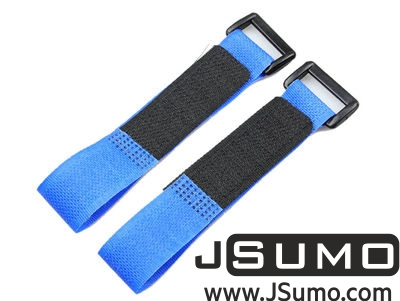 - Lipo Battery Belt Set 20cm - Blue (1)