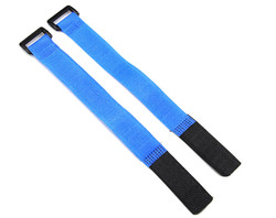 Lipo Battery Belt Set 20cm - Blue - Thumbnail