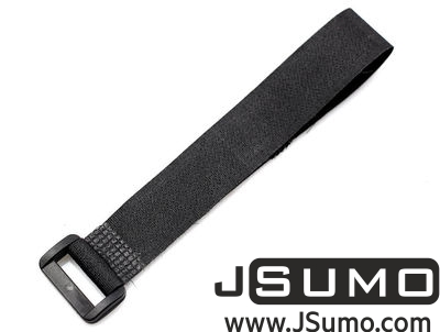 - Lipo Battery Belt 30cm - Black