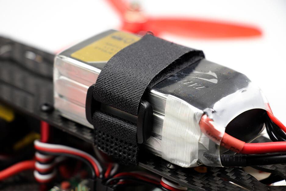 Lipo Battery Belt 30cm - Black