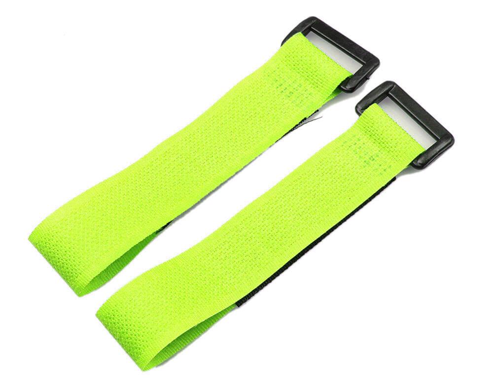 Lipo Battery Belt Set 20cm - Green