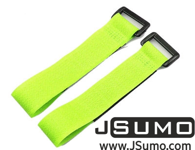 - Lipo Battery Belt Set 20cm - Green