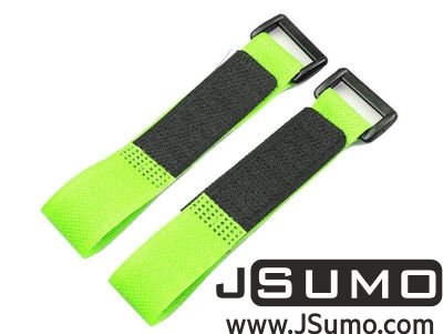 - Lipo Battery Belt Set 20cm - Green (1)