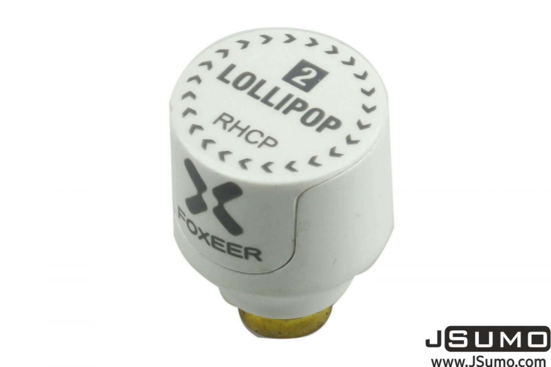 Lollipop 2 Stump - FPV Racing Drone Antenna (5.8GHz 2.5Dbi RHCP SMA)