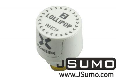 - Lollipop 2 Stump - FPV Racing Drone Antenna (5.8GHz 2.5Dbi RHCP SMA)