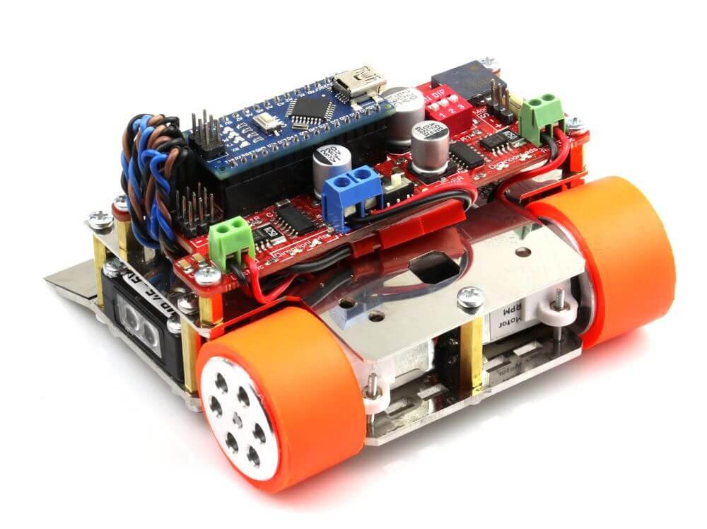 M1 Arduino Mini Sumo Robot Kit (Unassembled)