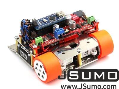 Jsumo - M1 Arduino Mini Sumo Robot Kit (Unassembled) (1)