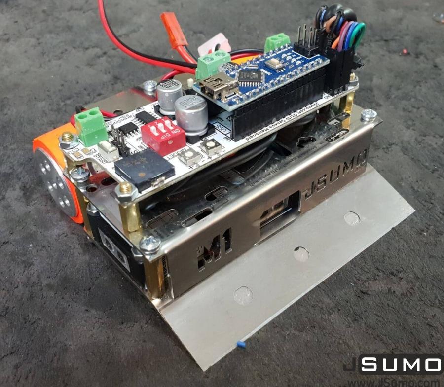 M1 Mini Sumo Robot Chassis (No Electronics - No Motors)
