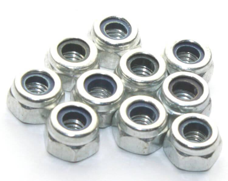 M4 Lock Nut (10 Pieces Pack)