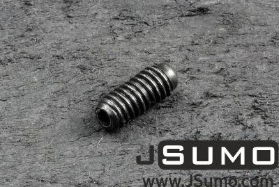 Jsumo - M4x10mm Ball Point Spring Set Screw