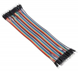 Male to Male Flat Jumper Cable - Thumbnail