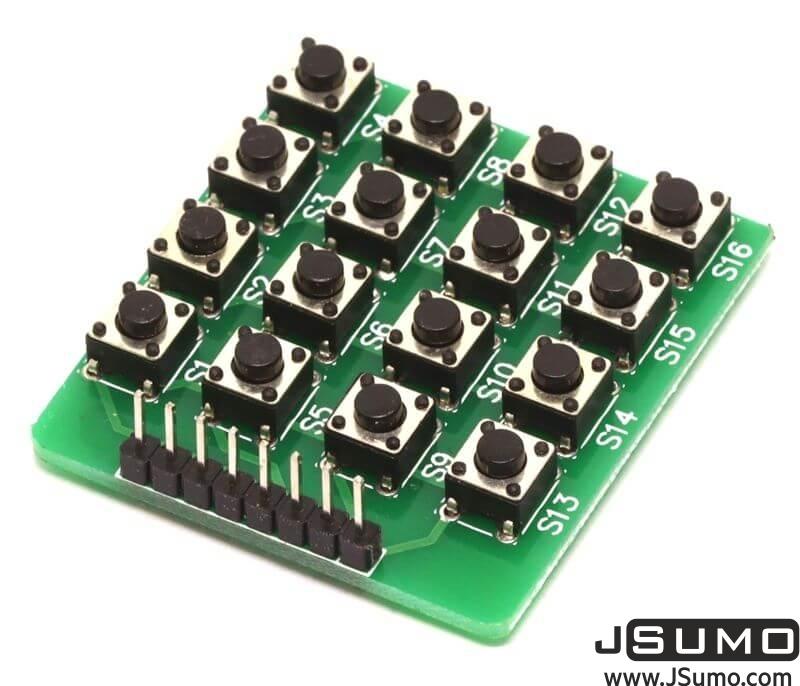 Matrix Button Keypad Module (4x4 Keypad)